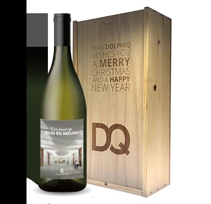 Chardonnay eigen wijn + gravure