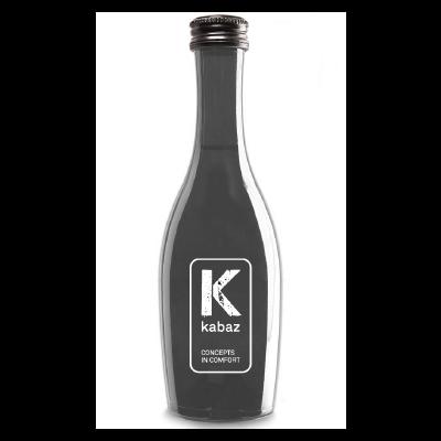 Klein flesje prosecco met eigen etiket
