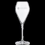 Wijn met eigen etiket - Glas met gravure