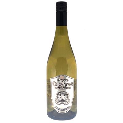 Chardonnay eigen wijn met tin